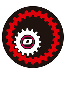 Nikidom Pair Of Wheel Mechanic Stickers