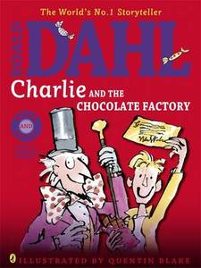 Charlie And The Chocolate Factory Colour Book And Cd