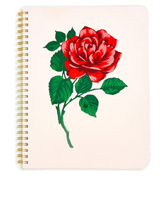 Ban.do Rough Draft Mini Notebook Will You Accept This Rose