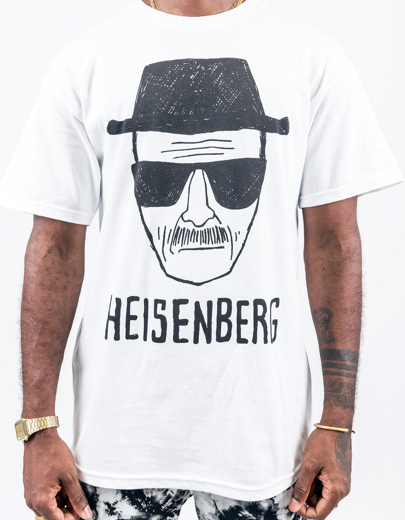 Breaking Bad Heisenberg White Sketch White Tshirt Xl