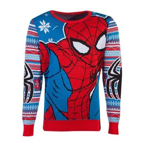 Difuzed Marvel Spiderman Knitted Unisex Jumper