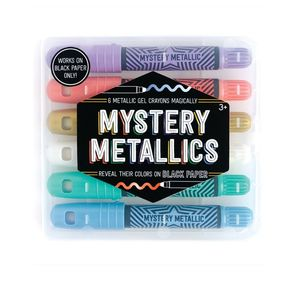 International Arrivals Mystery Metallics Gel Crayons