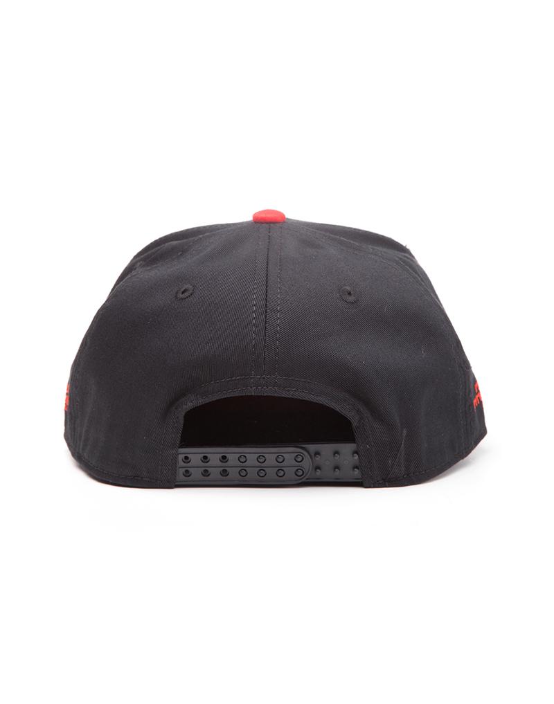 033d03380 Nintendo Nes Controller Metal Plate Snapback Cap Black | Caps ...