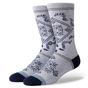Stance Bandero Sock Men Socks Grey