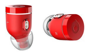Crazybaby Air Nano Red True Wireless Earbuds