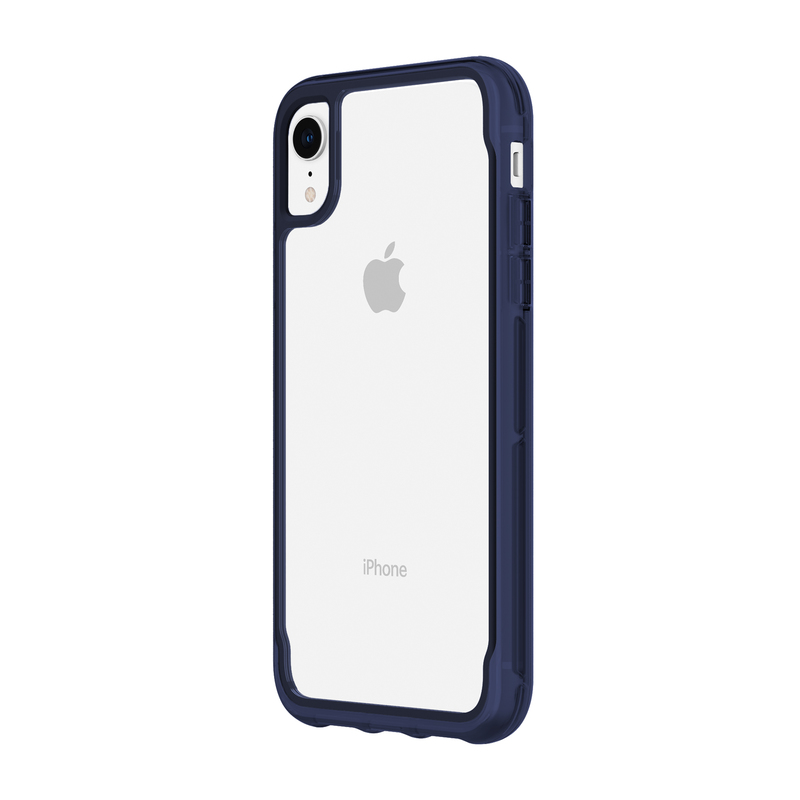 new arrival 6c851 f6a0b Griffin Survivro Case Clear/Iris for iPhone XR