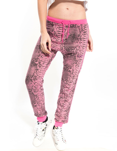 Happiness Turca Pitone Fuxia Fuxia Women's Sweatpants
