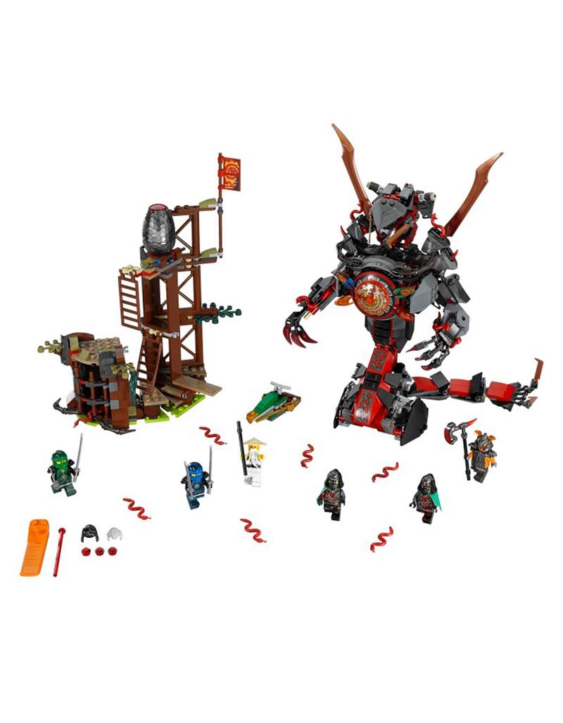 Lego ninjago dawn of iron doom 70626 building blocks - Ninjago en arabe ...