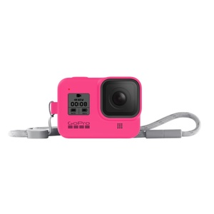 GoPro Sleeve + Lanyard Hero8 Black Electric Pink