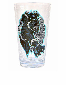 Marvel Black Panther Large Glass 450ml