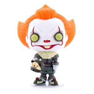 Funko Pop Movies It Chapter 2 Pennywise with Beaver Hat Vinyl Figure