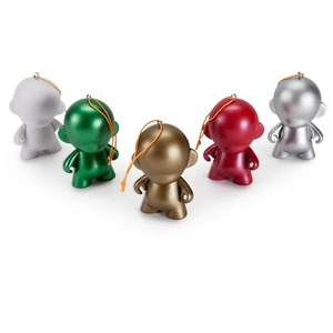 Kidrobot Munnyworld DIY Ornaments Figure 2.5 Inch [Pack of 5]