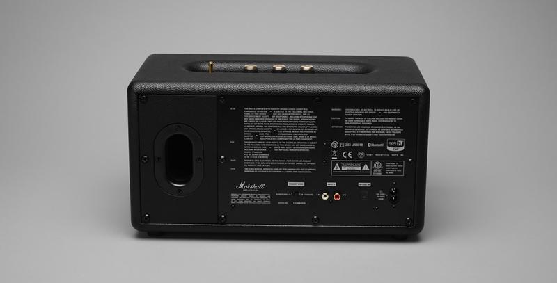 Cash Back Near Me >> Marshall Stanmore Bluetooth Black Speaker | Speakers & Docks | Headphones + Audio | Electronics ...