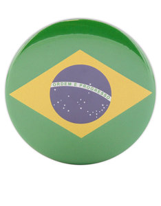 I Want It Now Brazil Fridge Magnet