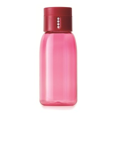 Joseph Joseph Dot Hydration Tracking Water Bottle 400ml Pink