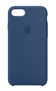 Apple Silicone Case Blue Cobalt for iPhone 8/7