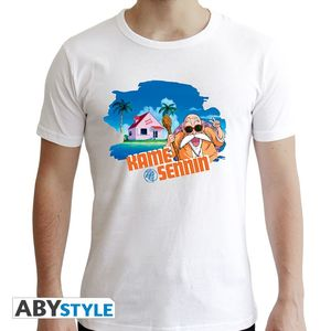 Abystyle Dragon Ball Tortue Geniale Men's T-Shirt White