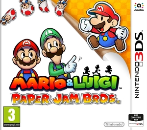 Mario And Luigi Paper Jam Bros 3Ds