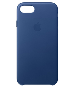 Apple Leather Case Sapphire For iPhone 7