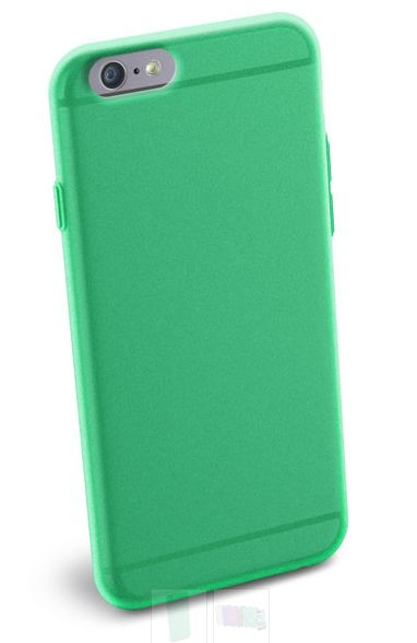 Cellular Line Slim Rubber Case Green Iphone 6