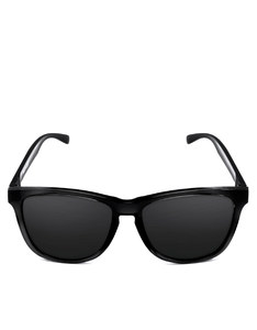 Emoji Monkeys Shiny Black/Black Adult Sunglasses