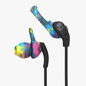 Skullcandy Xtplyo Swirl/Black/Gray Earphones with Mic