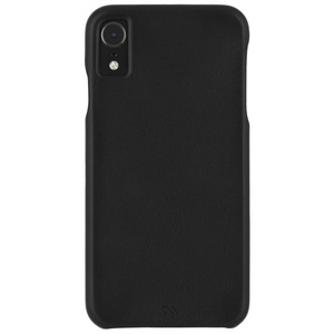 CASE-MATE BARELY THERE LEATHER CASE BLACK FOR IPHONE XR