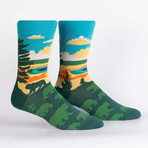 Sock It To Me Men's Crew Grand Prismatic Socks