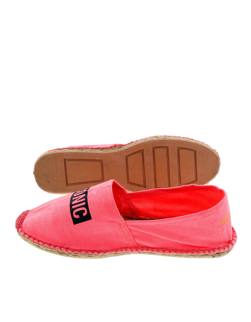 Fuxia Iconic Pink Women'S Espadrillas Size 40