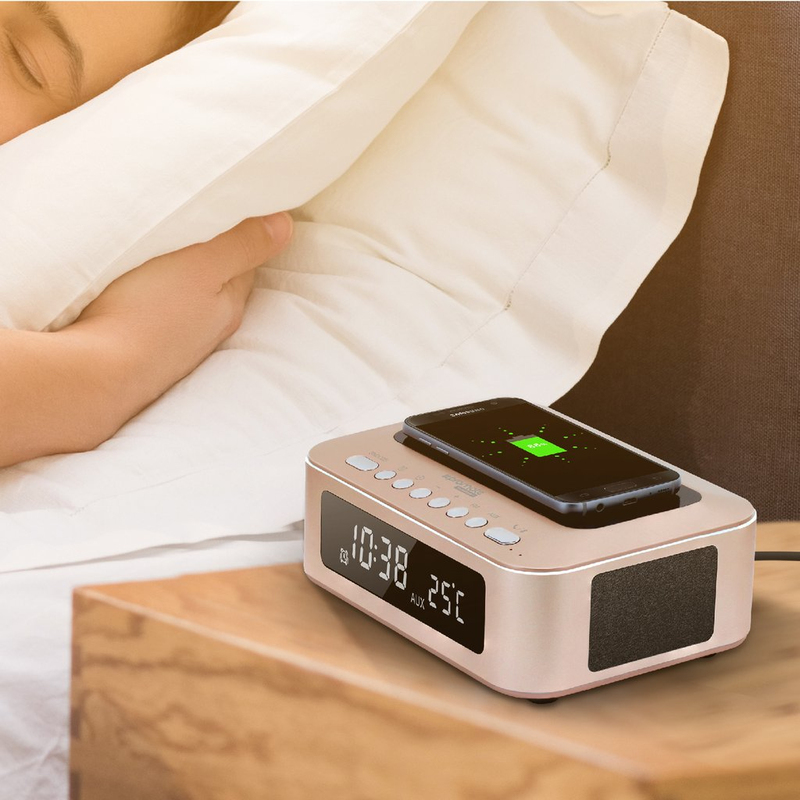 Promate Timebase 1 Gold Multi Function Stereo Wireless