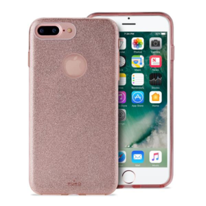 Puro Pc+Tpu Shine Cover Rose Gold iPhone 7 Plus