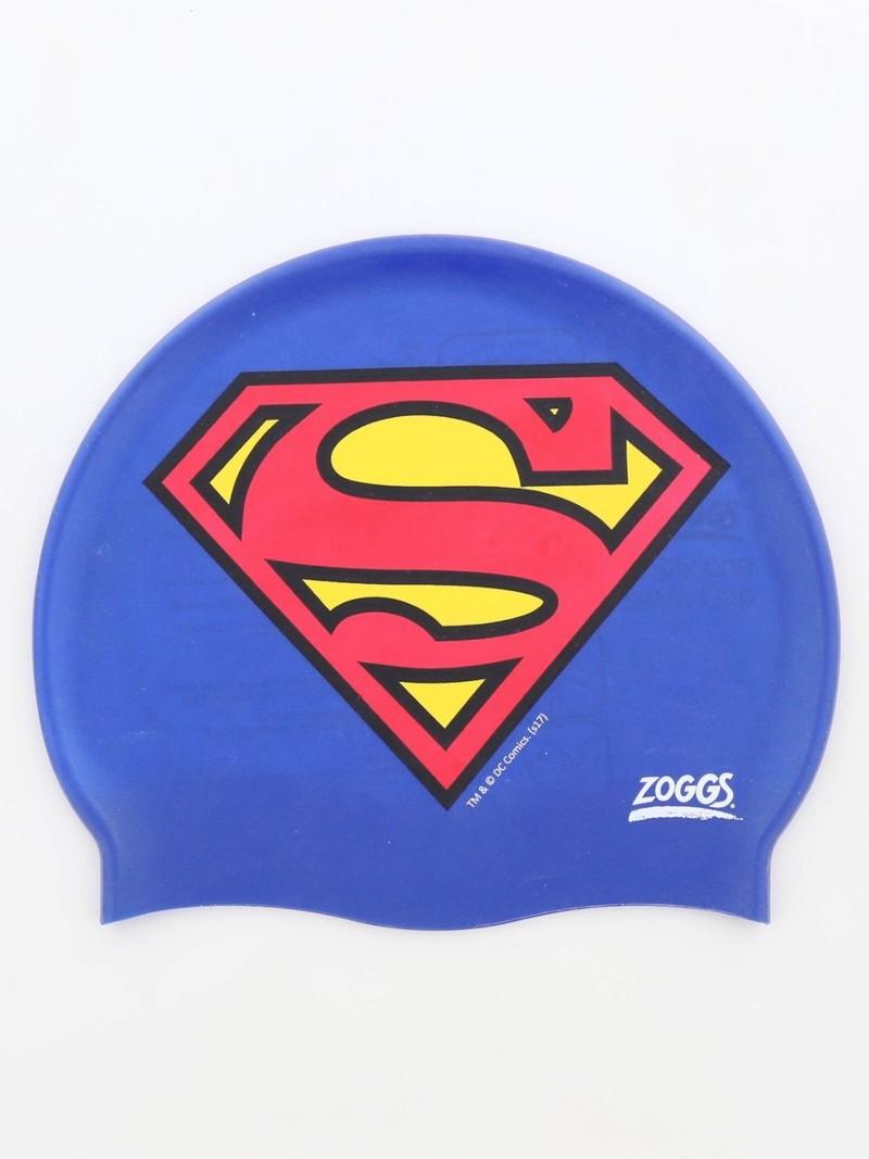775a2a73437 Zoggs Superman Silicone Cap Blue | Beach & Water Play | Outdoor | Toys |  Virgin Megastore