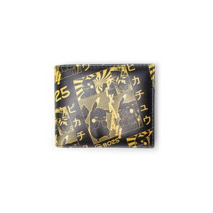 Pokemon Pikachu Manga Bifold Wallet Men's Wallet Black