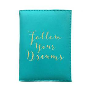 Bombay Duck Follow Your Dreams Aqua Passport Cover