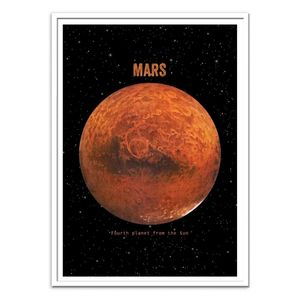 Mars Art Poster by Terry Fan [30 x 40 cm]