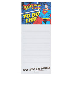 SUPERMAN SAVE THE WORLD MAGNETIC MEMO PAD