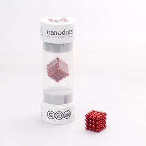 Nanodots 64 Red Magnetic Dots