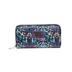 DIFUZED DISNEY MARY POPPINS AOP LADIES ZIP AROUND MULTICOLOR WALLET