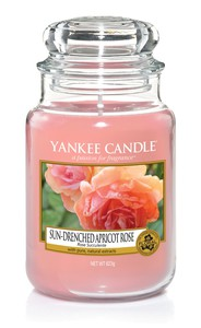 Yankee Candle Classic Jar Apricot Rose [Large]