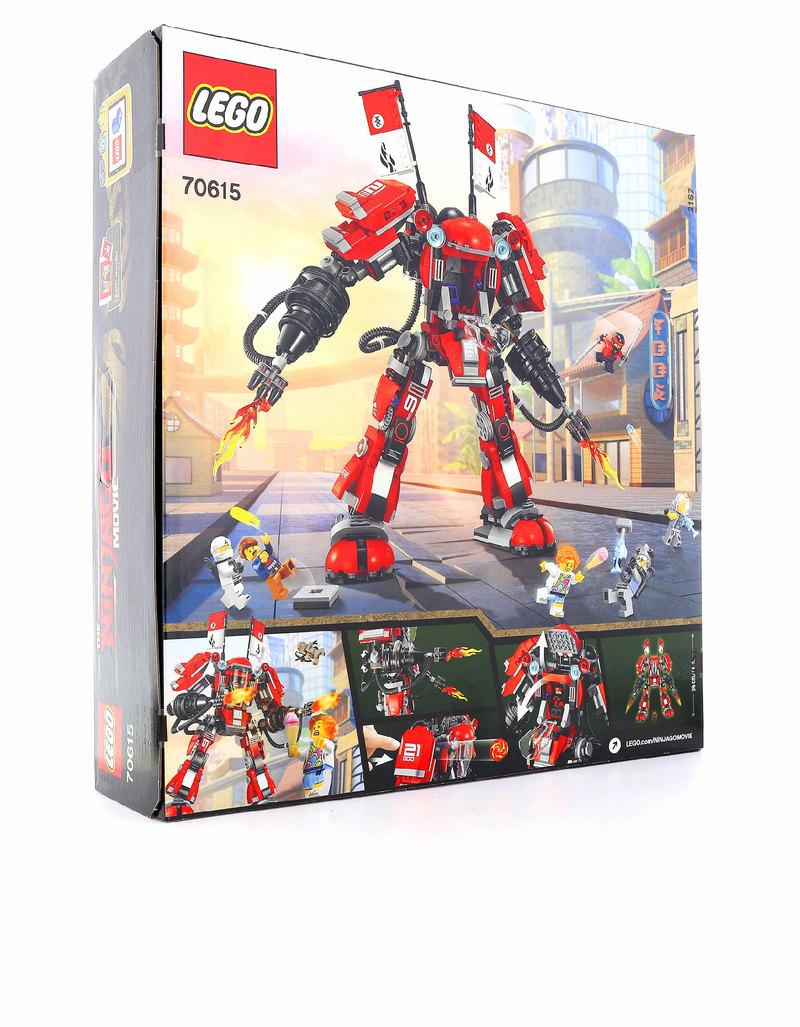 Lego ninjago movie fire mech 70615 building blocks - Ninjago en arabe ...