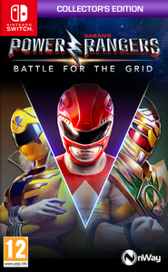 Saban's Power Rangers Battle for the Grid - Collector's Edition - Nintendo Switch