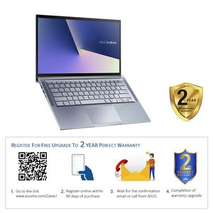 "ASUS Zenbook Laptop R5-3500U/BGA LPDDR3 8 GB/512 GB G3X2 SSD/14"" Full HD/Windows 10/Silver Blue"