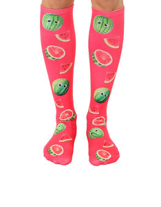 Living Royal Googly Watermelons Knee High Socks