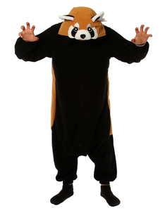 Red Panda Kigurumi Adult Fleece Costume