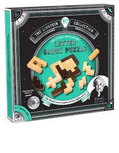 Professor Puzzle Einstein Collection Letter Blocks Puzzle