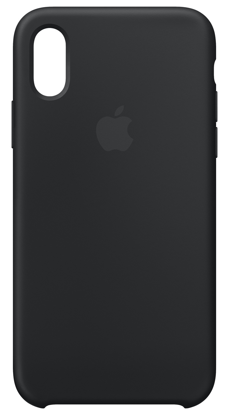 separation shoes 8cea1 374f9 Apple Silicone Case Black for iPhone XS