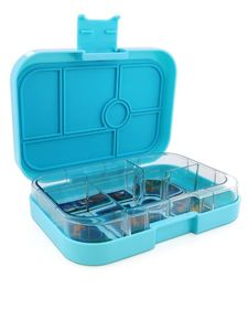 Yumbox Mystic Aqua Enchanted Forest Lunch Kit [6 Compartments]