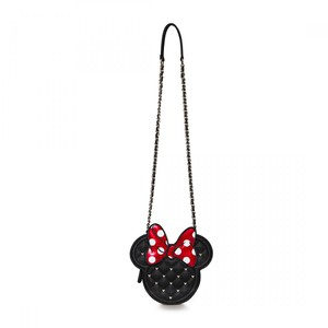 LOUNGEFLY DISNEY MINNIE DIE-CUT QUILTED X-BODY BAG