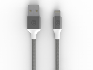 Griffin Premium Silver Lightning Cable 10Ft