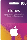 iTunes 100 USD Gift Card